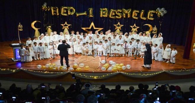 Diyanet İşleri Başkanı Erbaş, 'Bed-i Besmele Töreni'ne katıldı