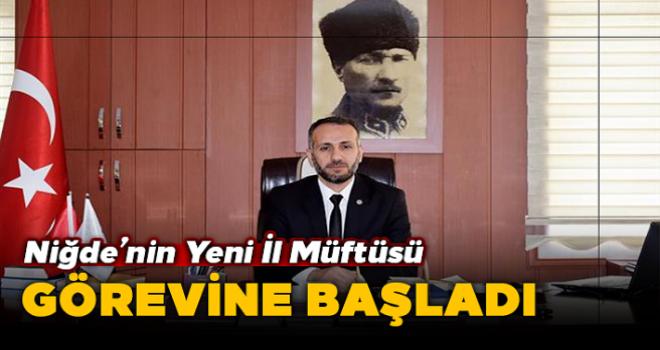 Niğde'de Il Müftüsü Mehmet Sırrı şık Görevine Başladı.