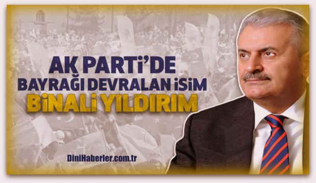Ak Parti\'nin Genel Başkan ve Başbakan adayı Binali Yıldırım