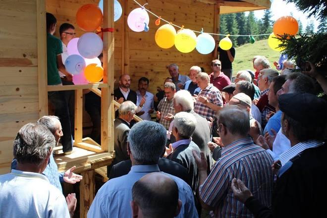 Akdamla Köyü Yaylası Camii İbadete Açıldı