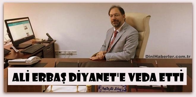 Ali Erbaş Yalova Üniversitesine Rektör Oldu