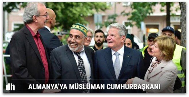 Almanya'ya Müslüman cumhurbaşkanı