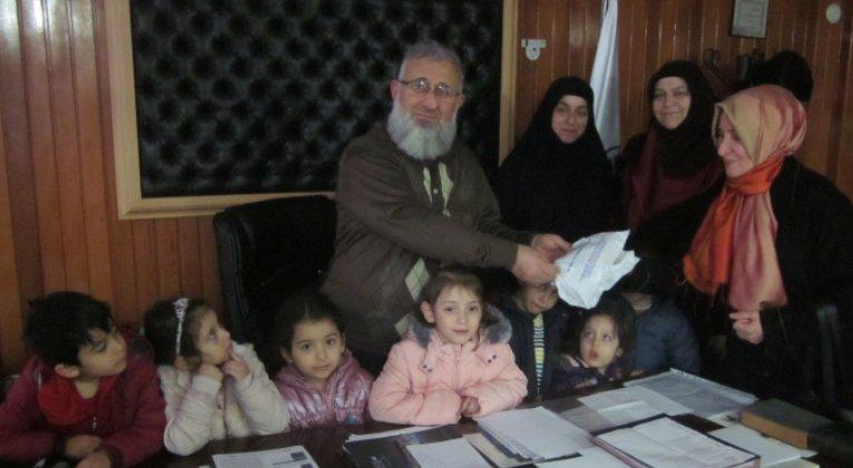 Altıntepsili Miniklerden Halep\'e Büyük Destek