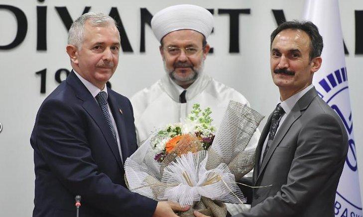 Ankara Müftülüğünde devir teslim töreni