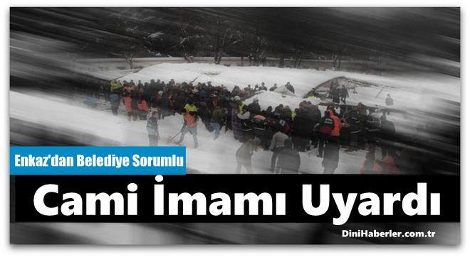 Ataköy Camii'ndeki Faciadan Belediye Sorumlu