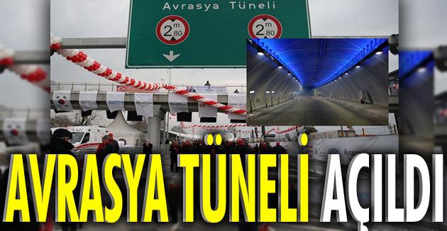 Avrasya Tüneli dualarla açıldı