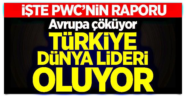 Avrupa çöküyor, Türkiye dünya lideri oluyor