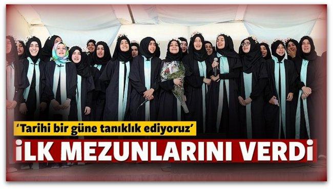 Avrupa\'nın ilk imam hatipi ilk mezunlarını verdi