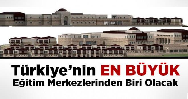Türkiye'nin en büyük Diyanet Eğitim Merkezlerinden biri olacak