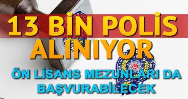 Polis alımı başvuru duyurusu akademi tarafından yayımlandı! 13 bin polis alımı yapılacak!