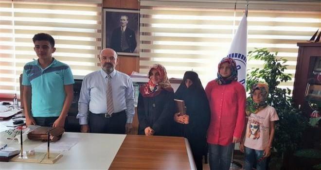 Osmaniye'de Yaz Kur'an Kursu öğrencileri yarıştı