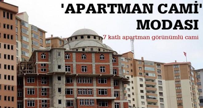 Apartman cami modası yayılıyor!