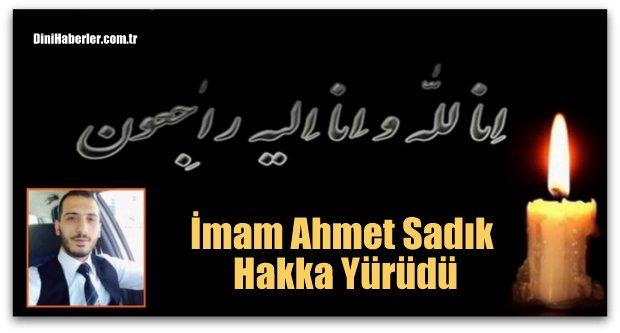 Balkondan düşen İmam Ahmet Sadık  hayatını kaybetti