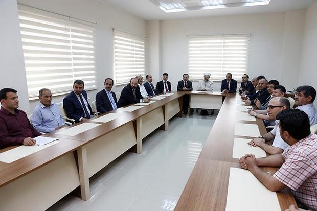 Başkan Görmez, Kilis'te din görevlileriyle bir araya geldi