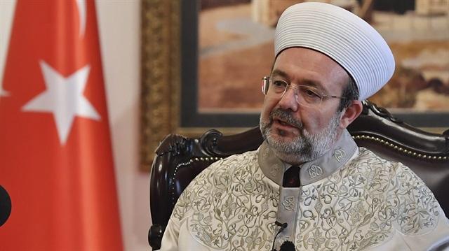 Başkan Görmez\'den Mısır\'daki terör saldırısına kınama