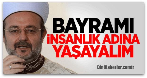 Başkan Görmez\'in Ramazan Bayramı Mesajı