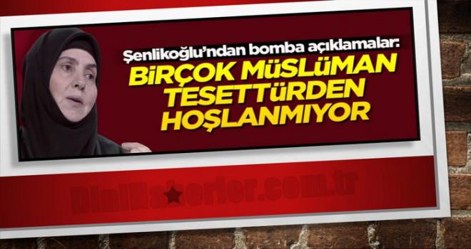Emine Şenlikoğlu, Sadece Başörtüsü ile Tesettür Olmaz