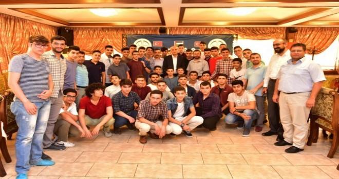 Kahramanmaraş'ta Kudüslü Öğrencilerle Gönül Köprüsü Kuruldu