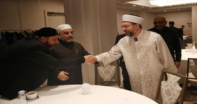 Başkan Erbaş, New York'ta Müslüman STK temsilcileri ile bir araya geldi