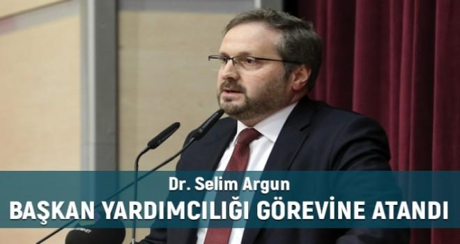 Dr. Selim Argun Diyanet İşleri Başkan Yardımcılığına Atandı