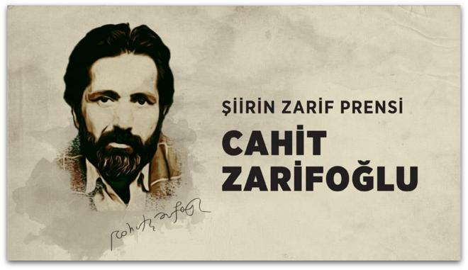 Bir portre, Cahit Zarifoğlu