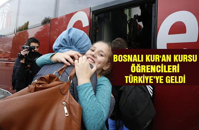 Bosnalı Kur\'an Kursu öğrencileri Türkiye'ye geldi