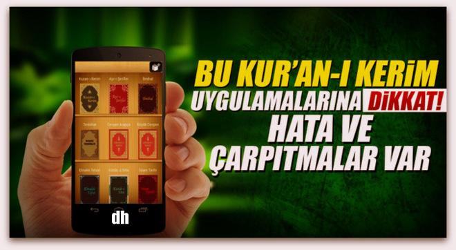 Bu Kur\'an-ı Kerim uygulamalarına dikkat!