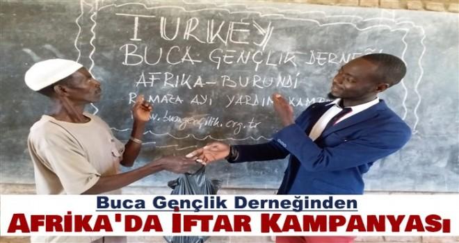 Buca Gençlik Derneğinden Afrika'da Yardım kampanyası