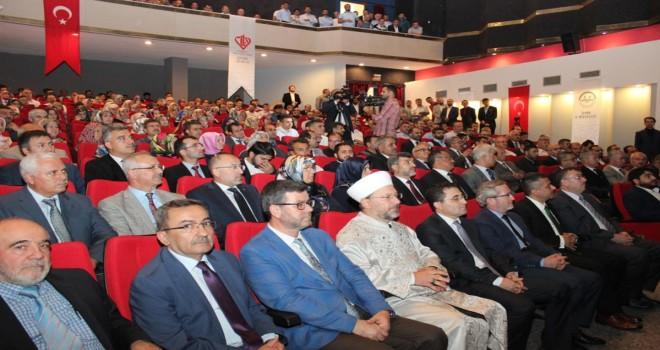 Başkan Erbaş, İzmir'de din görevlileriyle bir araya geldi.