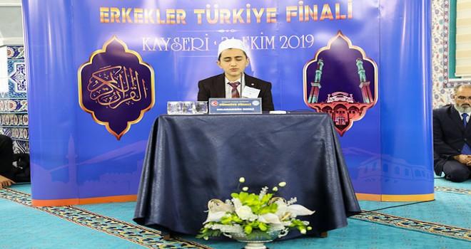 Hafızlık Yarışması Türkiye Finali Kayseri'de yapıldı