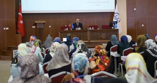 Başkan Görmez, ADRB Vaizlerine Yönelik Düzenlenen Seminere Katıldı…