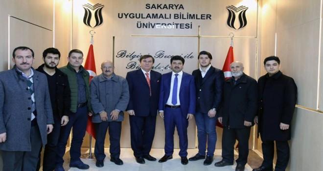 Fedrasyon'dan Pof. Dr. Sayın Mehmet SARIBIYIK 'a Ziyaret