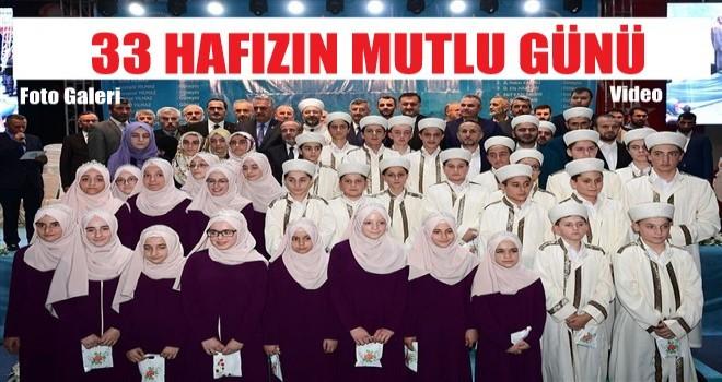 Başkan Erbaş, Rize'de 'Hafızlık İcazet Merasimi'ne katıldı