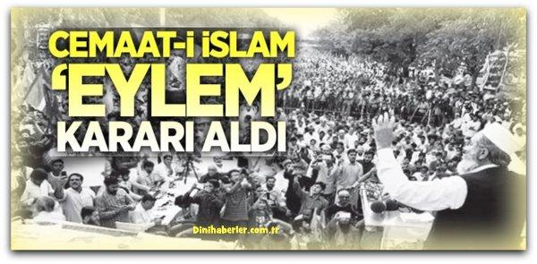 Cemaat-i İslami oturma eylemi başlatıyor