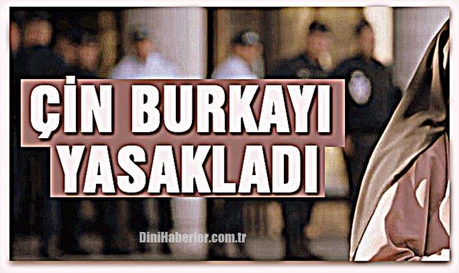 Çin burkayı yasakladı