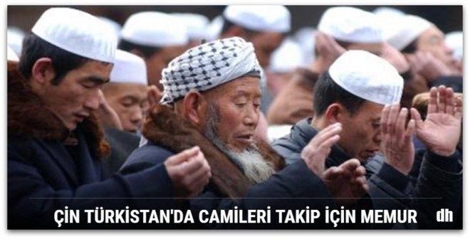 Çin Türkistan\'da camileri takip için memur görevlendirdi