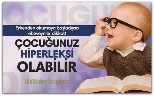 Çocuğunuz erkenden okumaya başladıysa dikkat!