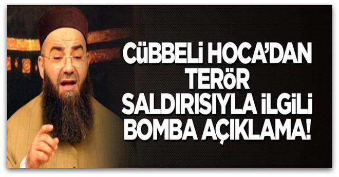 Cübbeli Ahmet Hoca\'dan flaş terör saldırısı açıklaması
