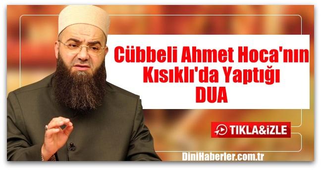 Cübbeli Ahmet Hoca\'nın Kısıklı\'da Yaptığı DUA