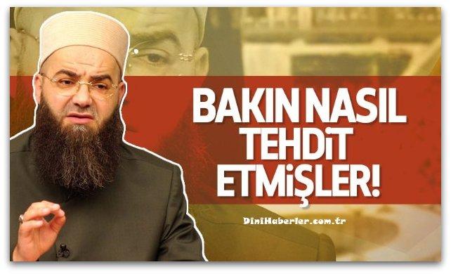 Cübbeli Ahmet\'i bakın nasıl tehdit etmişler!