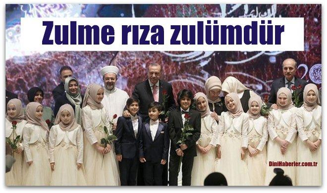 Cumhurbaşkanı Erdoğan, Hz Peygamber Bir Denge Timsaliydi...