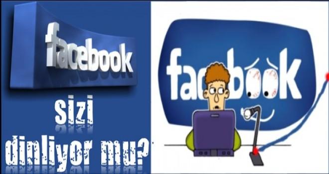 Facebook Sizi Dinliyor mu?