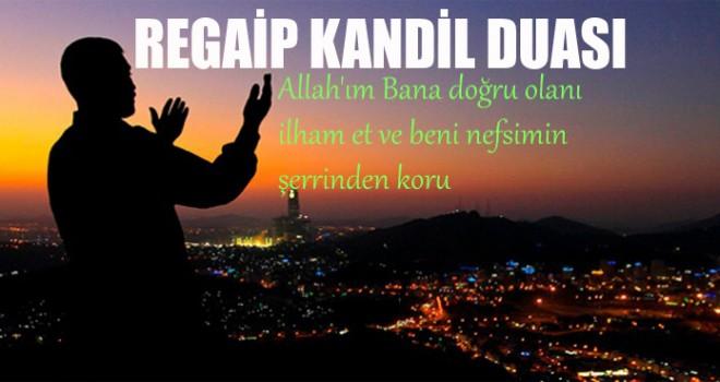 Regaip Kandili Duası