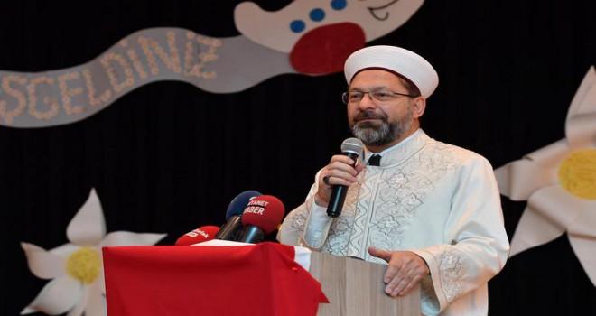 Kur'an kurslarında yeni eğitim-öğretim döneminin besmelesi çekildi