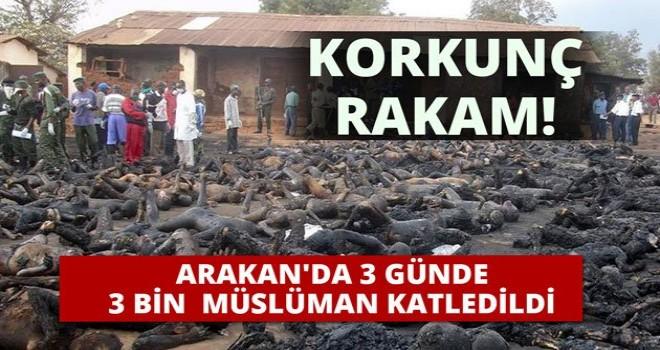 3 Günde, 3 Bin Müslüman Katledildi