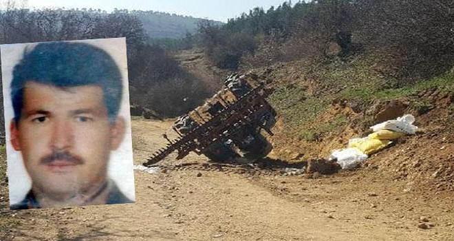 Devrilen traktörün altında kalan imam, kurtarılamadı
