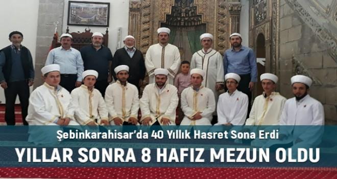 Şebinkarahisar'da 40 Yıllık Hasret Sona Erdi