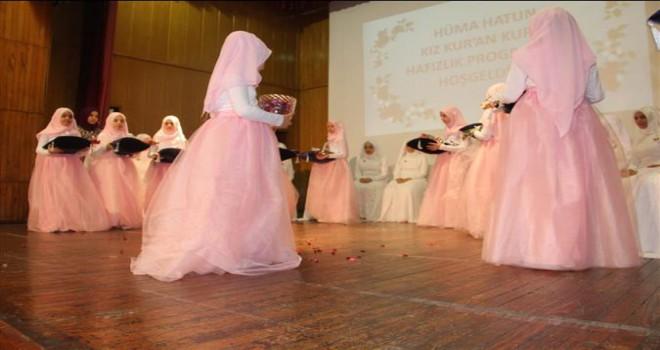 Edirne'de Hafızlara Altın Taç