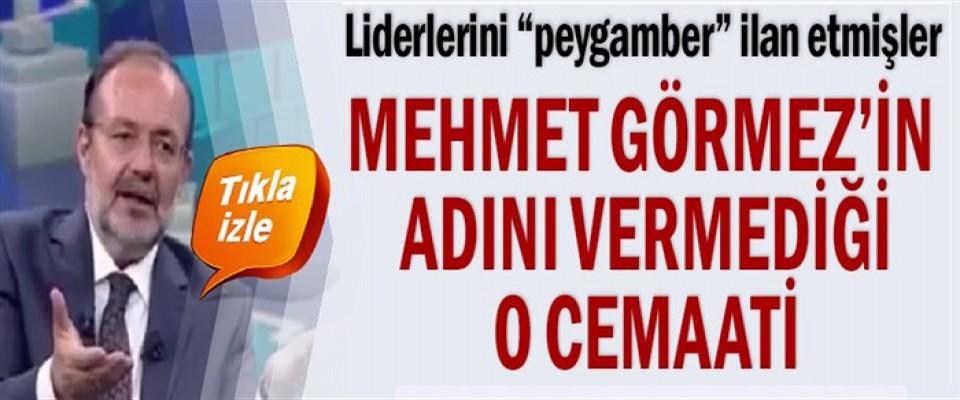 Mehmet Görmez'in adını vermediği o cemaat