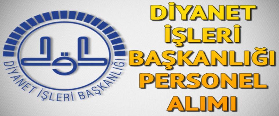KPSS 60 Puanla Diyanet'te Kamu Personeli Olma Şansı!